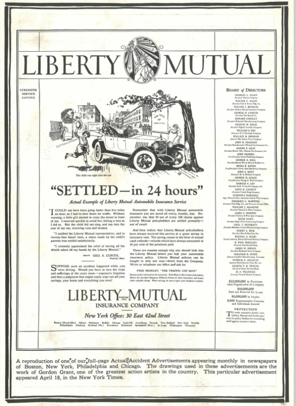 Liberty Mutual grew quickly